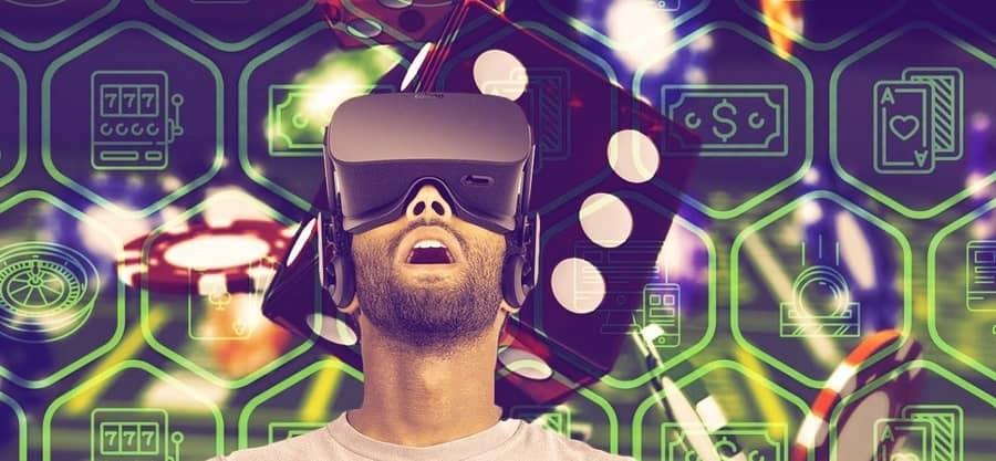 تقنية الواقع الافتراضي في ألعاب الكازينو اون لاين